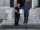 Художникът Пламен Легкоступ откри своята изложба в Ямбол