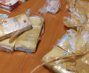 Хванаха близо 100 000 евро нелегално пренасяни на МП Капитан Андреево
