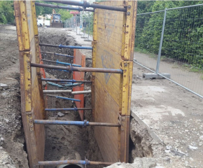 Изби авария на новоремонтиран водопровод по Водния цикъл в Ямбол
