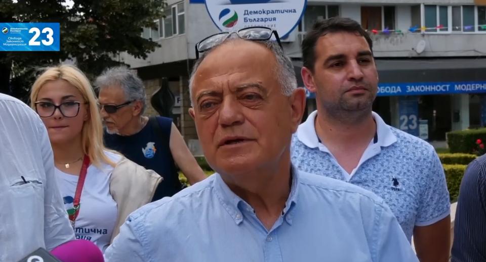 """""""Бавно и мъчително Борисов си отива от политиката. Въпросът е ние какво ще сътворим на мястото на Борисовата държава"""". Това заяви в Ямбол съпредседателят..."""