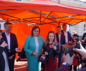 Избори 2021: Корнелия Нинова: Неделя е решаващ ден за бъдещето на родината ни! (АУДИО)