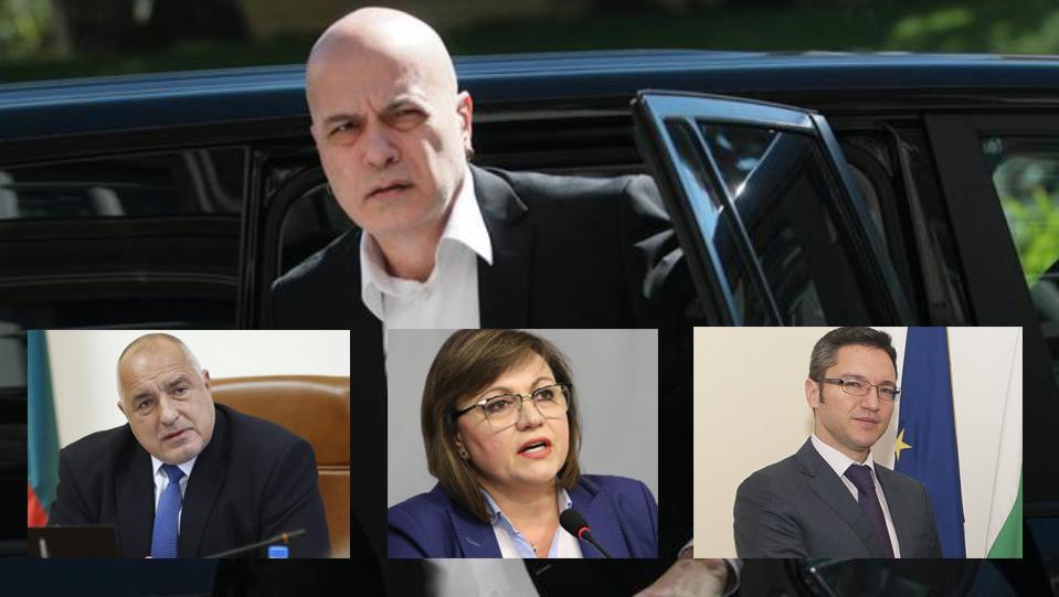 Ще има ли България нов Кабинет? Това се питат всички. А на политическият пазар се предлага подкрепа на втория от ляво, и от дясно. От своя страна Слави...