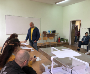 Изборният ден в Ямбол приключи при 44,02 процента избирателна активност