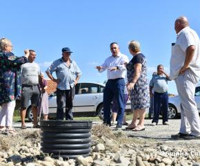 Изгражда се отводнителна канализация за част от село Желю войвода