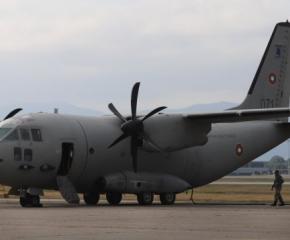 Излетяха българските самолети с хуманитарна помощ за Хърватия