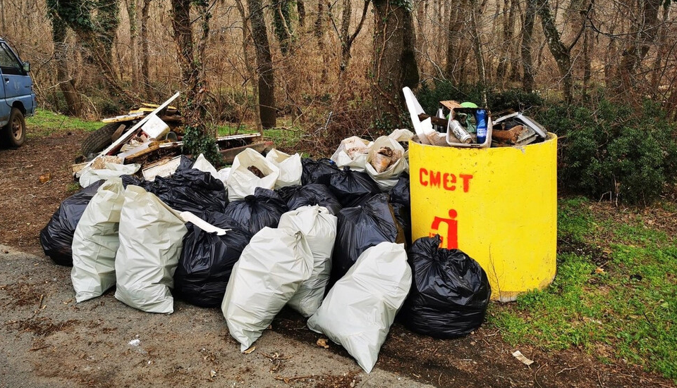 Над дватона отпадъци извадиха служители от няколко институции по време на акция по почистването на река Ропотамо, съобщават от Община Приморско. Включили...