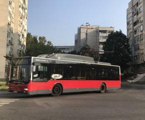 Извънредното разписание на градския транспорт в Ямбол се удължава до 31 януари 2021 година включително