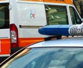 Катастрофа с таксиметров автомобил в Сливен