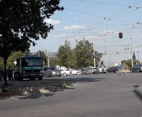 Катастрофа на възлово кръстовище в Сливен