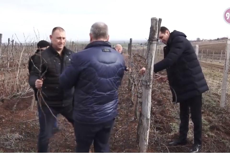 Кметът на община Ямбол Валентин Ревански взе участие в тържественото зарязване на лозите в село Ботево. Десетки се събраха, за да отбележат празника на...