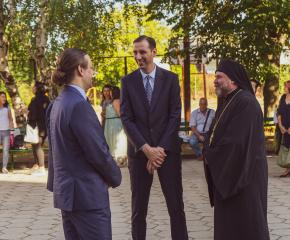 Кметът и председателят на Общински съвет Ямбол присъстваха на откриването на новата академична година (СНИМКИ/ВИДЕО)