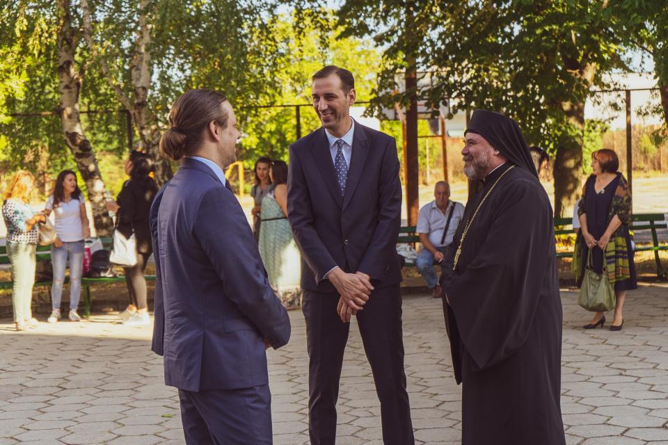 Кметът на Община Ямбол Валентин Ревански и председателят на Общински съвет Ямбол Антон Шиков присъстваха на откриването на новата академична година на...