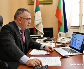 Кметът на Сливен Стефан Радев участва в заседание за добри междуобщински практики