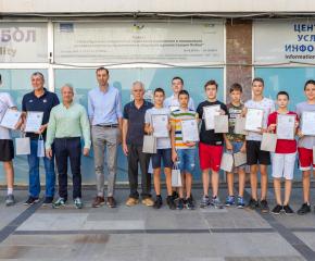 """Кметът Валентин Ревански поздрави вицешампионите от БК """"Тунджа – Ямбол"""""""