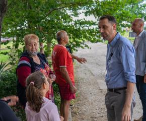 Кметът Валентин Ревански се срещна с граждани на Ямбол