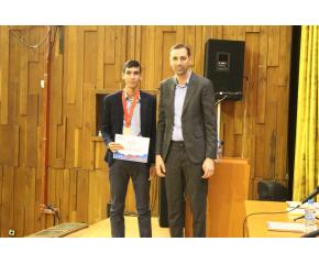 Кметът на Ямбол и председателят на Общински съвет поздравиха Румен Михов – момчето, което донесе бронзов медал на Ямбол от международна олимпиада