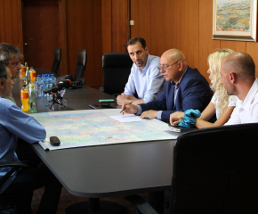Кметът на Ямбол се срещна с министъра на околната среда и водите