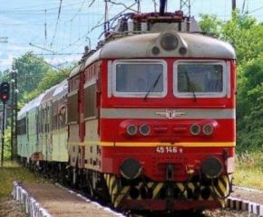 Локомотив се запали на жп гара Карнобат