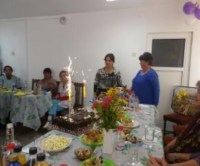 В Мамарчево празнуваха рожден ден на социално заведение