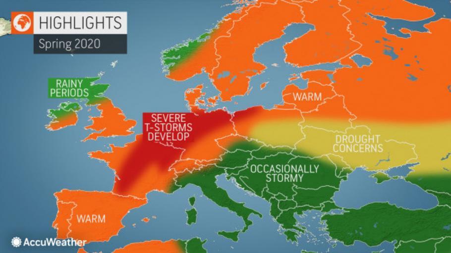 Очаква ни дъждовен и мрачен уикенд. Минималните температури ще са между минус 2 и 3, максималните - между 5 и 10 градуса. Атмосферното налягане е по-високо...