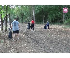 Младежи почистиха Ормана (видео)