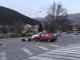 Мотор се удари в лека кола в Сливен (снимки)