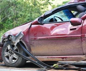 Мъж от Твърдица пострада след катастрофа