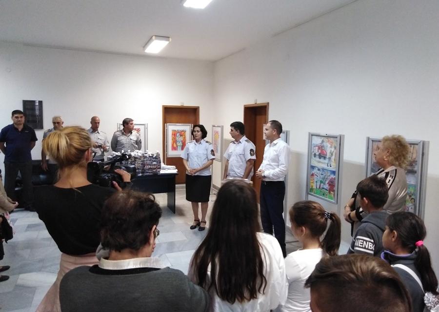 """Днес, в сградата на Областна администрация – Ямбол се проведе награждаването на участниците в Областния етап на конкурса за детска рисунка """"С очите си..."""