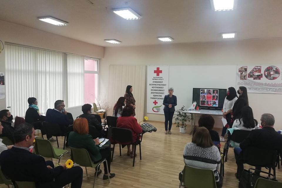 На тържествена церемония бяха връчени отличия на дейци и активисти със значим принос в развитието на Ямболската червенокръстка организация по повод Световния...