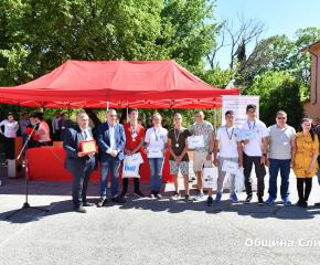 Наградиха победителите в национално състезание по строителство