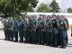Наградиха пожарникарите и граничните полицаи, гасили огъня на границата