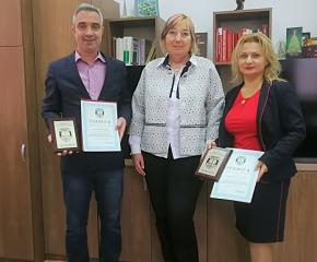 Наградиха ръководителите на Окръжната и Районната прокуратура в Ямбол