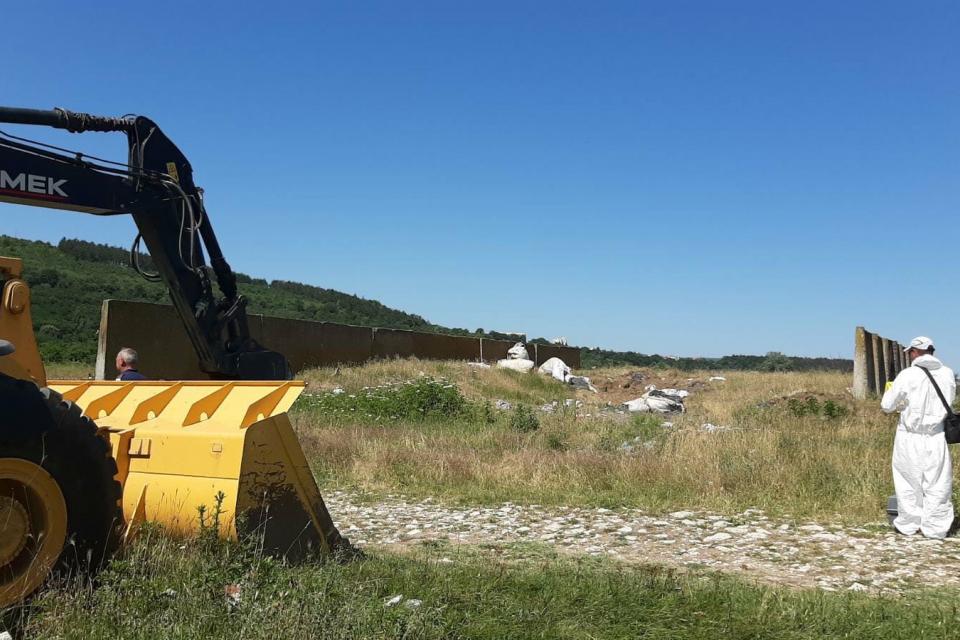 Няма завишени нива на радиация в района нанерегламентираното сметище край Червен бряг.През изминалия ден там специализираната прокуратурата проведе акция...