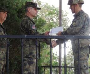Нов командир на 42 механизиран батальон - Ямбол