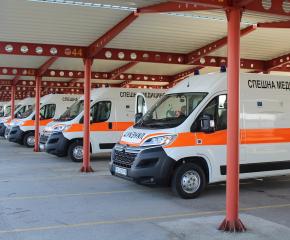 Нова линейка получи Центърът за спешна медицинска помощ - Ямбол