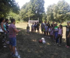 Нови игрища за децата в боляровски села