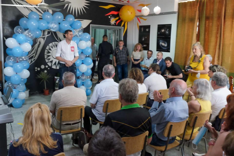 Кметът на община Ямбол Валентин Ревански и председателят на Общински съвет-Ямбол Антон Шиков присъстваха на официалното откриване на новия иновативен дигитален...