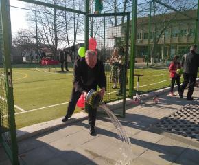 Ново спортно игрище радва децата в Болярово