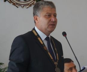 Новогодишно приветствие на кмета на община Тунджа