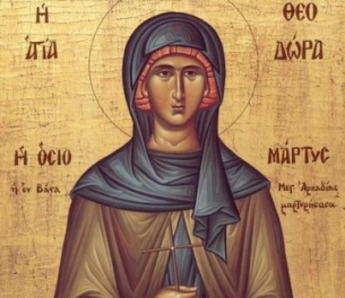 Православната църква почита днес паметта на Света Теодора, светицата, която се подвизавала...