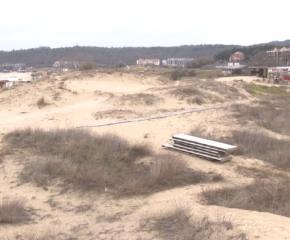 """Няма разрушени дюни край плаж """"Смокиня"""""""