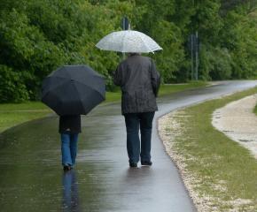 Облачно време днес със значителни превалявания от дъжд