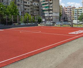 """Обновената площадка за баскетбол и минифутбол в комплекс """"Граф Игнатиев"""" ще бъде открита на 15 юли"""