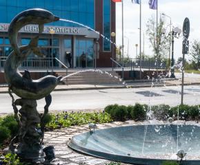 """Обновено е кръстовището в квартал """"Златен рог"""" до бившия Изчислителен център"""