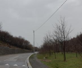 Община Сливен изгради допълнително улично осветлението по пътя за долна лифтена станция