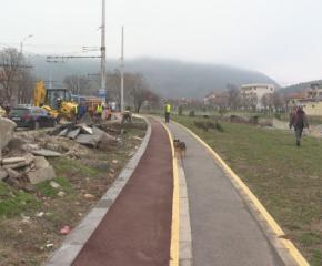 Община Сливен: Изпълнителят трябва да ремонтира велоалеите