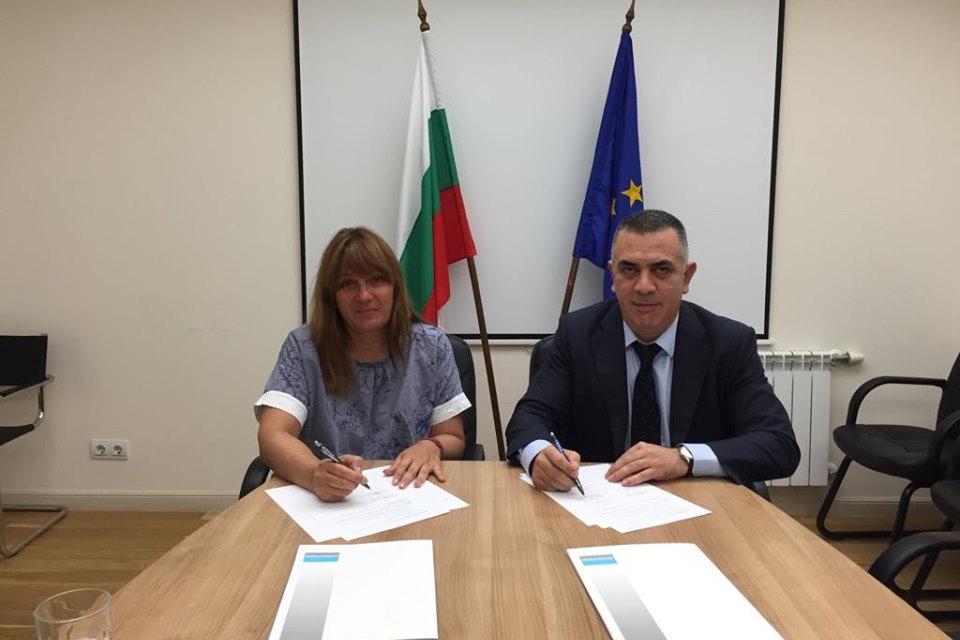 """Община Сливен и """"Национална компания индустриални зони"""" подписаха Меморандум за..."""