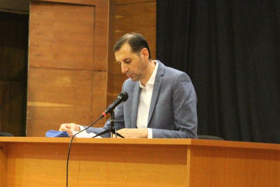 Дванадесетото заседание на Общински съвет Ямбол започна с минута мълчание в памет на починалия общински съветник Кръстьо Петров. Неговото място беше заето...