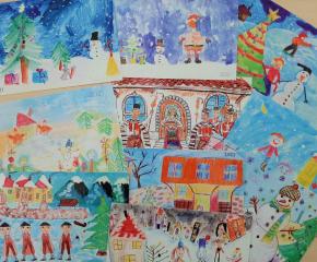 """Община Ямбол обявява традиционния конкурс за детска рисунка """"Коледа"""",част от кампания """"Подай ръка – спаси живот"""""""