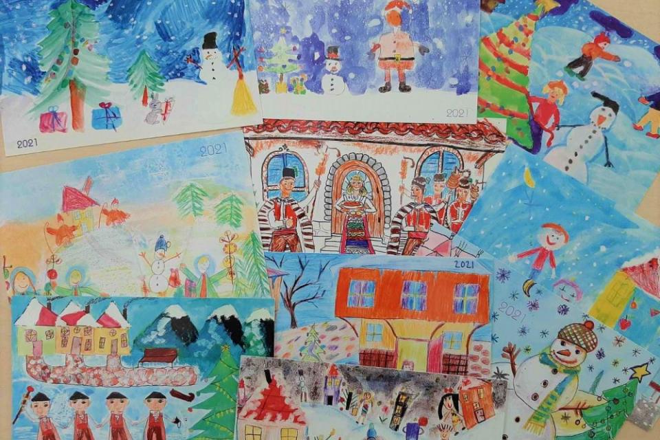 """Община Ямбол обявява традиционния конкурс за детска рисунка """"Коледа"""", който е част от благотворителната кампания""""Подай ръка – спаси живот"""". В него могат..."""